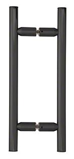 Ladder shower handle in black